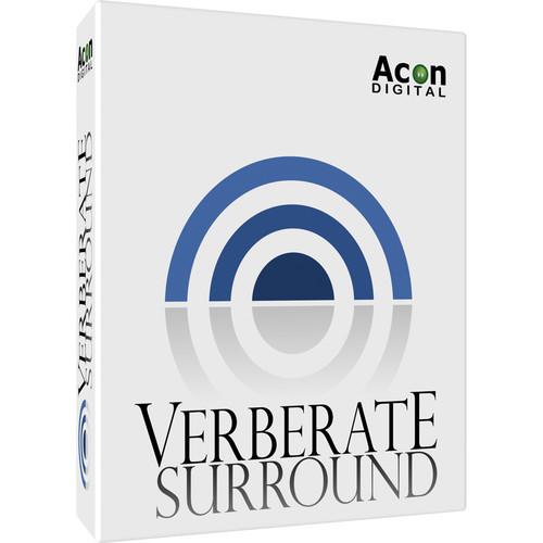 Acon Digital Verberate Surround - Surround Reverb Plug-In (Download)