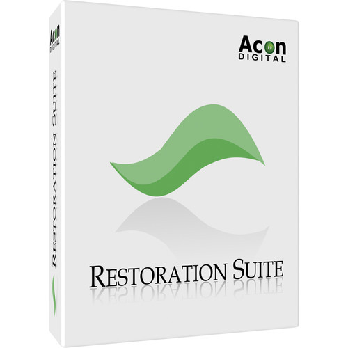 Acon Digital Restoration Suite - Audio Restoration and Noise Reduction Plug-Ins (Download)