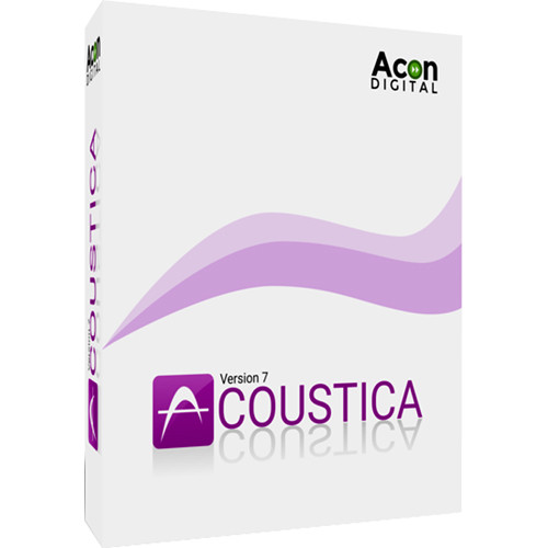 Acon Digital Acoustica Premium Edition 6 - Audio Editor (Download)