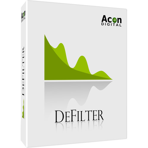 Acon Digital DeFilter - Automatic Equalization Plug-In (Download)