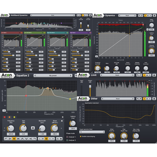 Acon Digital Mastering Suite Plug-Ins (Download)
