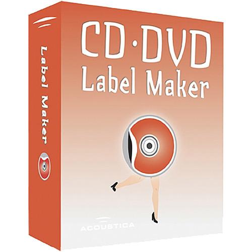 Acoustica CD/DVD Label Maker Software for Windows