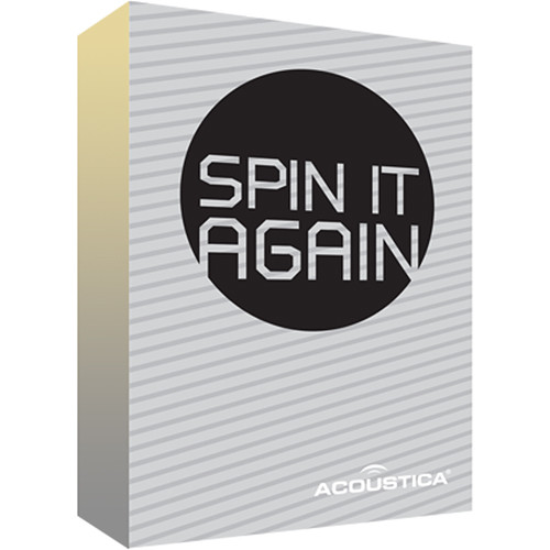 Acoustica Spin It Again Analog Restoration and Archival Software (Download)