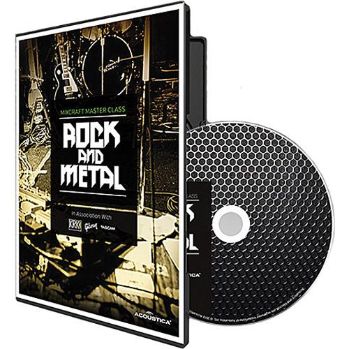 Acoustica DVD: Mixcraft Master Class: Rock and Metal Instructional DVD