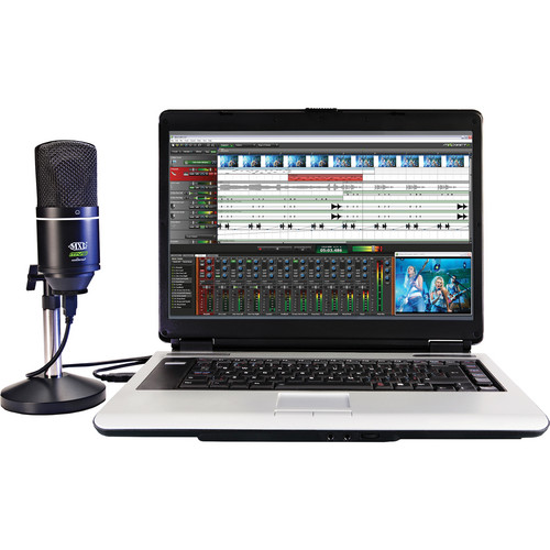 Acoustica Mixcraft 6 Vocal Studio Recording Software and USB Mic Bundle