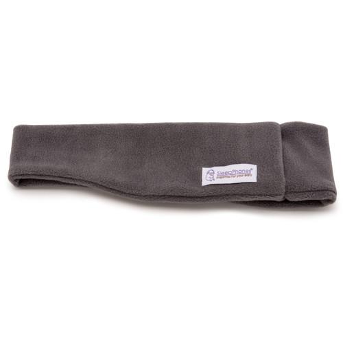 AcousticSheep SleepPhones Wireless Headphones (X-Small/Small, Fleece, Soft Gray)