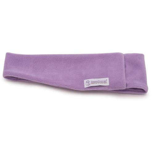 AcousticSheep SleepPhones Wireless Headphones (Large/X-Large, Fleece, Quiet Lavender)