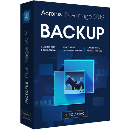 Acronis 1-Year True Image 2019 Essential Subscription (1 Computer)