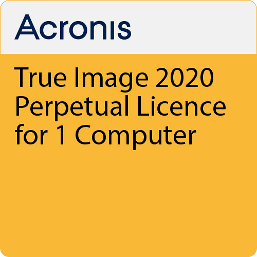 Acronis True Image 2020 (1 Computer, Perpetual, Download)
