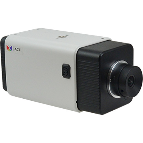 ACTi A22 5MP Indoor/Outdoor Day/Night Network Box Camera with Extreme WDR