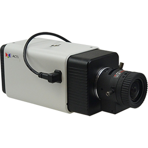 ACTi A24 5MP Indoor/Outdoor Day/Night Network Box Camera with 3.6-10mm Varifocal Lens and Extreme WDR