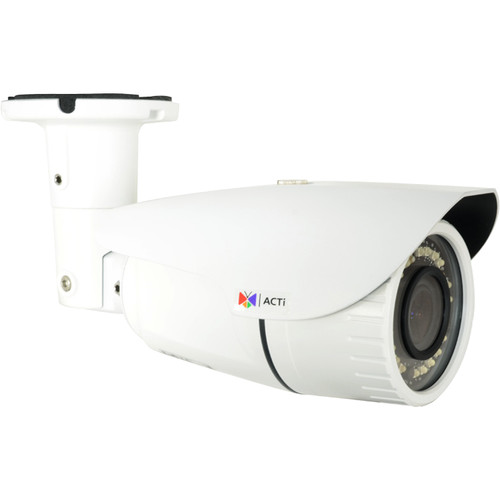 ACTi 2MP Vandal-Resistant Outdoor Network Bullet Camera with 2.8-12mm Lens & Night Vision