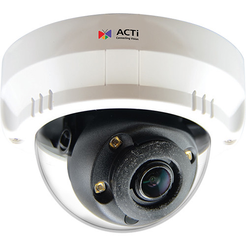 ACTi Mini Zoom A63 2MP Network Dome Camera with Night Vision