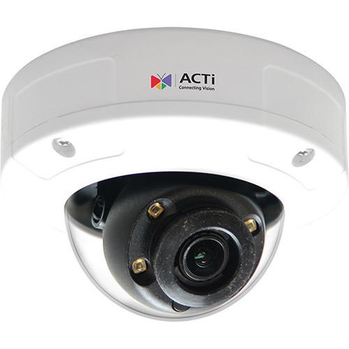 ACTi A88 3MP Outdoor Network Dome Camera (White)