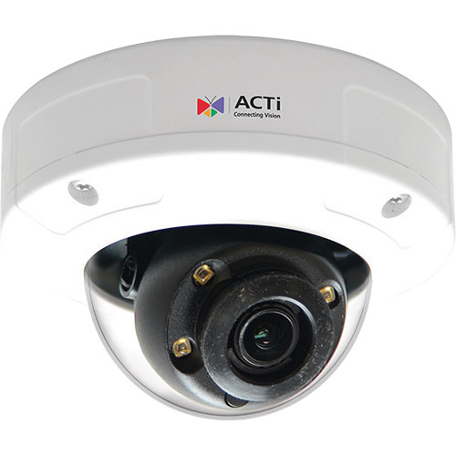 ACTi A92 3MP Outdoor Mini Dome Network Camera with Night Vision