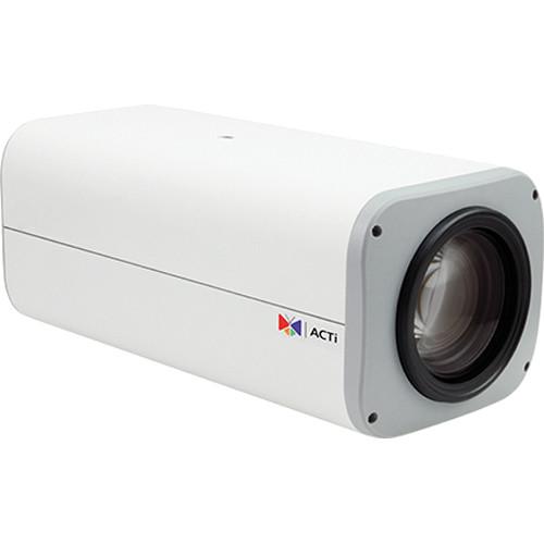 ACTi B214 IP Box Camera with 4.7 to 94mm Varifocal Lens