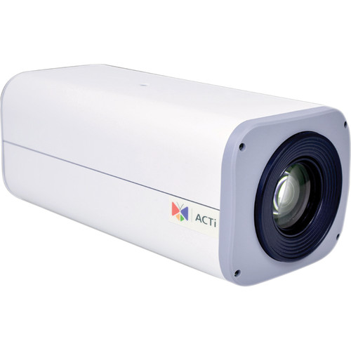 ACTi B27 3MP Day/Night 12x Zoom Box Network Camera with Superior WDR