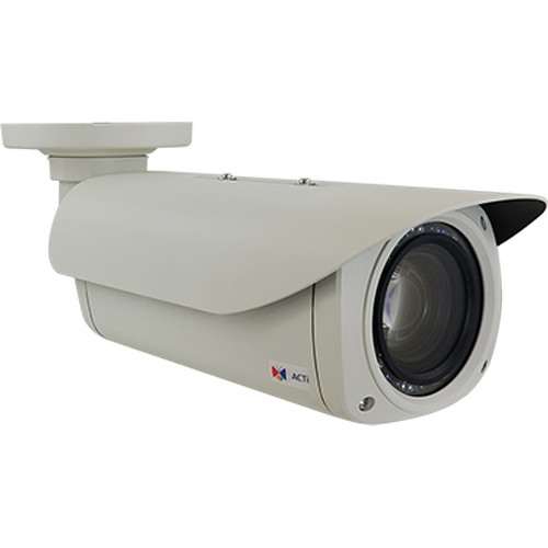 ACTi B412 3MP Outdoor 10x Zoom Network Bullet Camera with Night Vision