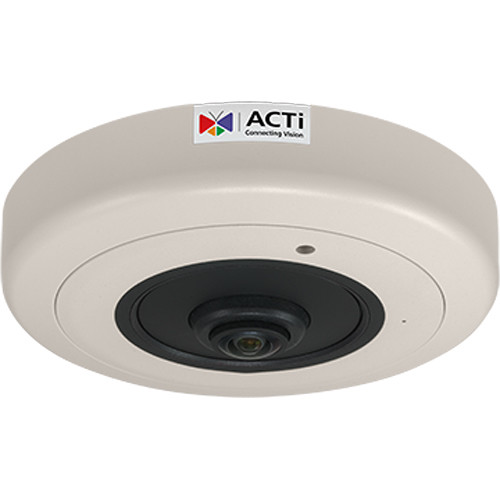 ACTi B511A 12MP Hemispheric Network Dome Camera with 1.65mm Fisheye Lens & Night Vision