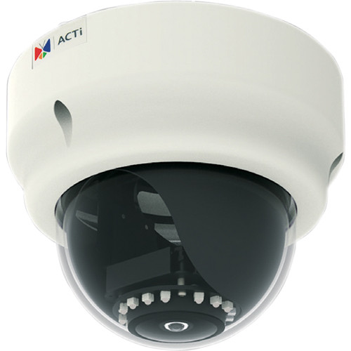 ACTi B53 3 Mp Superior WDR Day & Night Indoor IR Dome PoE Camera with Fixed Lens