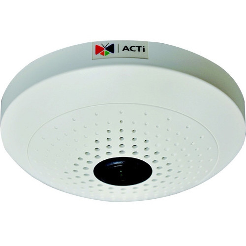 ACTi B54 5MP PoE Fisheye Dome Camera