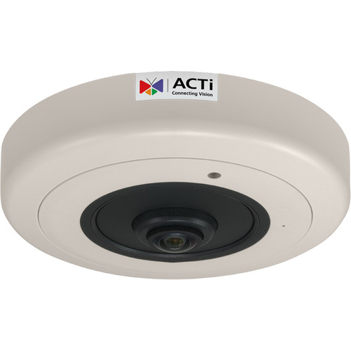 ACTi B57A 6MP Hemispheric Network Dome Camera