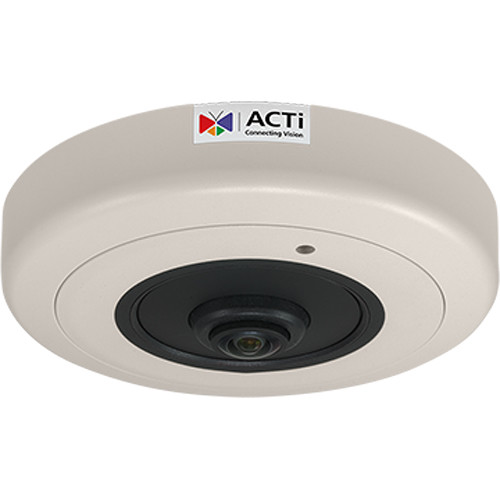 ACTi 8MP Hemispheric Network Dome Camera with Night Vision