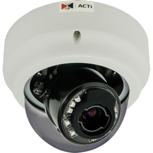 ACTi B612 3MP Network Dome Camera with 3-9mm Lens & Night Vision
