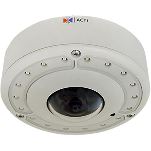 ACTi B74 8MP True Day/Night Vandal-Resistant Outdoor Hemispheric Dome Camera