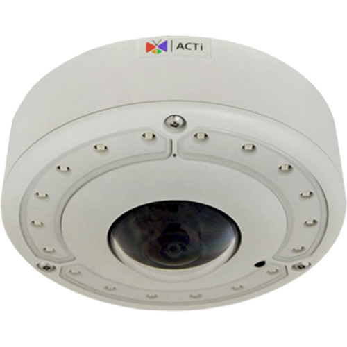 ACTi 8MP Outdoor Hemispheric Network Dome Camera with Night Vision