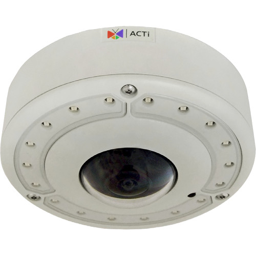ACTi B77A 6MP Outdoor PTZ Hemispheric Network Dome Camera with Night Vision
