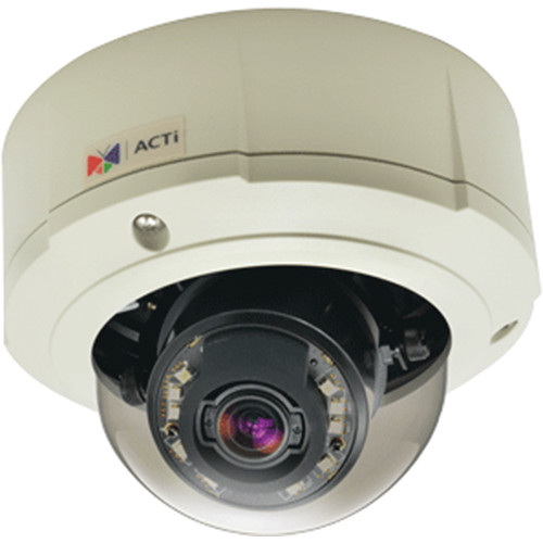 ACTi B82 5MP Day & Night Outdoor IR Dome PoE Camera with 9 to 22mm Lens