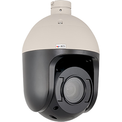 ACTi 3MP Video Outdoor Day/Night Adaptive IR Speed Dome with 4.6-165.6mm Lens