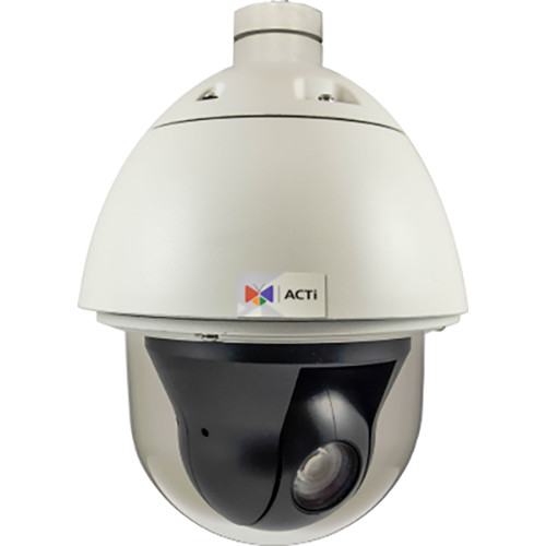 ACTi 2MP Outdoor Speed Dome PTZ Camera with 4.5-135mm Varifocal Lens