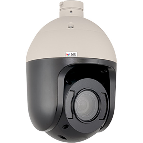 ACTi 5MP Video Outdoor Day/Night Adaptive IR Speed Dome with 4.6-165.6mm Lens