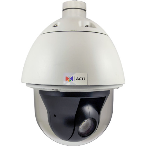 ACTi 3MP Outdoor Speed Dome Camera with 4.6-165.6mm Varifocal Lens and 36x Zoom Lens