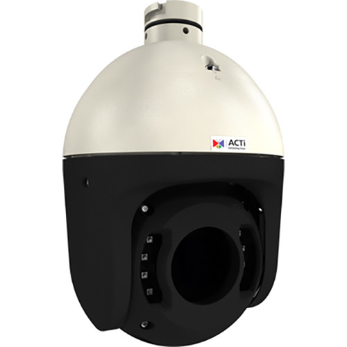 ACTi 2MP Outdoor Speed Dome Camera with 4.5-135mm Varifocal Lens, and Adaptive IR LEDs