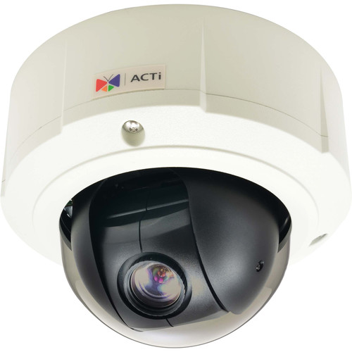 ACTi 1.3MP Outdoor Mini PTZ Dome Camera
