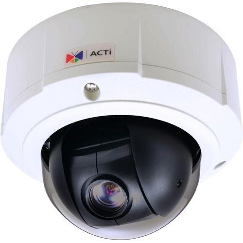 ACTi 3MP Outdoor Mini PTZ Dome Camera