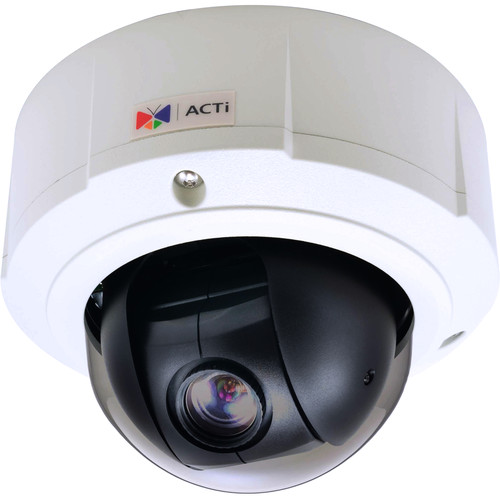 ACTi 3MP Outdoor Mini PTZ Dome Camera