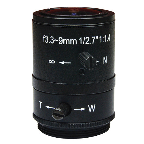 ACTi CS Mount PLEN-0131 3.3-9mm F1.4 Lens