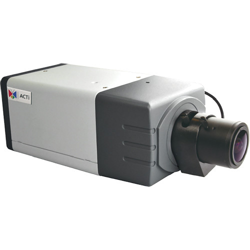 ACTi D22VA 5 Mp 1080p Day & Night Full HD PoE Color Box Camera with f2.8 to12mm Varifocal Lens