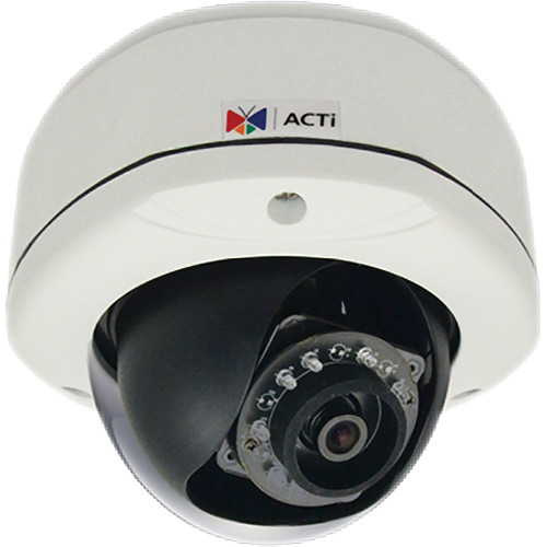 ACTi D71 1 Mp Day/Night IR Outdoor Dome Camera with Fixed Lens