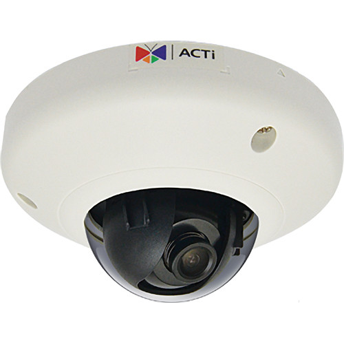 ACTi D91 1 Mp Indoor Mini Dome Camera with 2.93mm Fixed Lens