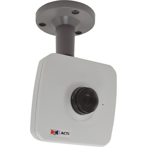 ACTi 1MP Cube Camera with 4.2mm Fixed Lens and Terminal Block