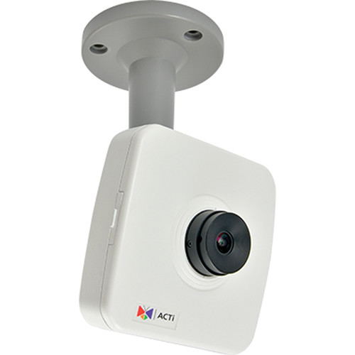 ACTi 10MP Cube Camera with Basic WDR and 3.6mm Interchangeable Lens