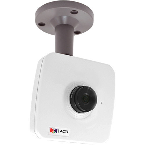ACTi E17 3MP Network Cube Camera with Superior Low Light Sensitivity