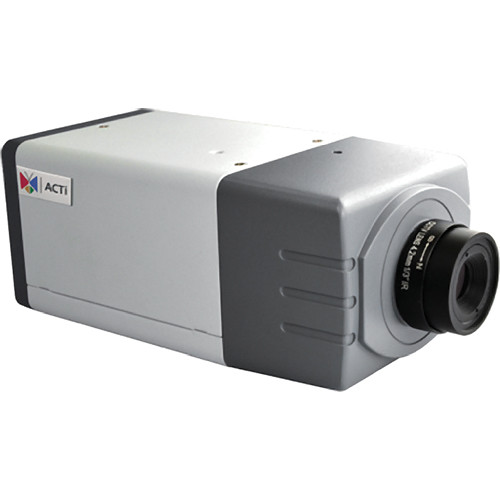 ACTi E217 2MP IP Day/Night PTZ Box Camera with PoE and 2.93mm Fixed Lens