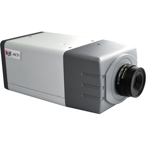 ACTi E22 5 Mp Day/Night Box Camera with Basic WDR & 2.93mm Megapixel Fixed Lens