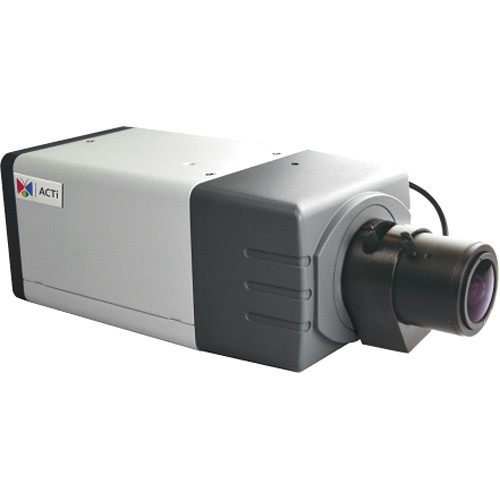 ACTi E23B 2MP Day/Night Basic WDR Box Camera with 2.8 to 12mm Varifocal Lens